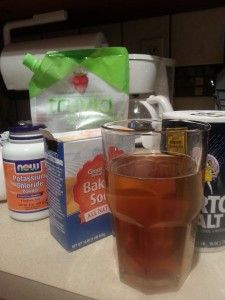 Make Your Own Electrolyte Replacement Drink