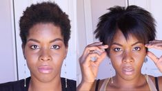 How to Straighten Kinky Hair With Aveda's Naturally Straight. 4A, 4B, 4C...