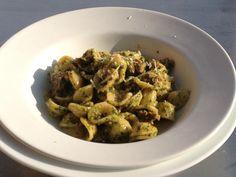Recipe courtesy of Let's Move!: Orecchiette with Broccoli Rabe Pesto & Sausage