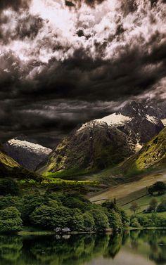 Dark Clouds, The Pyrenees, Spain