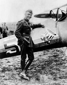 World War I fighter ace and air advisor Eddie Rickenbacker, (1890-1973), c. 1920.