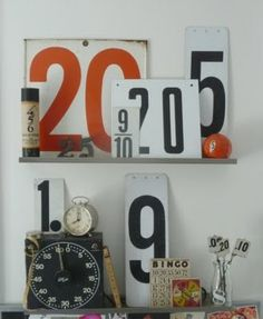 sign numbers styling