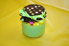 Baby food jar to party favor