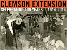 Educations exhibits were prepared and shown at the South Carolina State Fair and 11 county fairs. 1945 Extension Annual Report. Image courtesy of Clemson University Special Collections. #ClemsonExt100