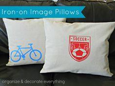 pillow 21, sew, ironon pillow, irons, craft, envelop pillow, cricut ironon, pillow covers, diy pillows