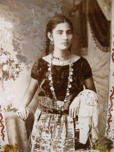 Young Purepecha woman.