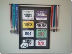 nice idea for displaying running achievments