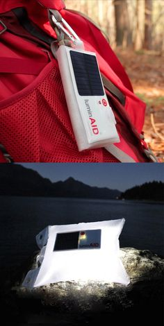 LuminAID Inflatable Solar Light (highly portable, waterproof, floatable, and rechargeable LED light)