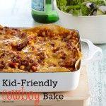 Kid-Friendly Recipe: Creamy Beef Tortilla Bake