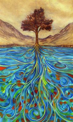 Tree of Life, painting Any idea who is the artist?