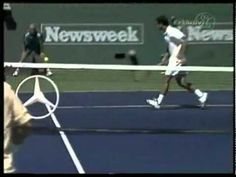 Andre Agassi...the best return ever !!!