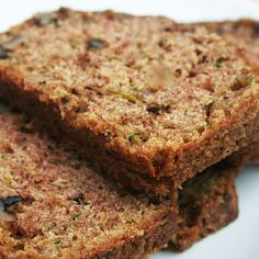 A delicious hearty zucchini loaf recipe that is filled with goodies for a filling snack.. Zucchini Walnut Loaf Recipe from Grandmothers Kitchen.