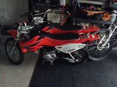 Two crf 70s