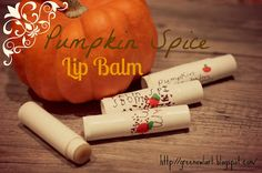 Pumpkin Spice Lip Balm from Green Owl Art