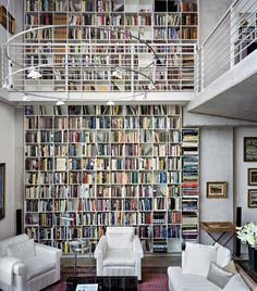 Dream library!! If only I could ever have enough books!!