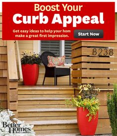 Repinned: Boost Your Home's Curb Appeal!