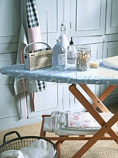 even ironing can be pretty  via Tove Andersen