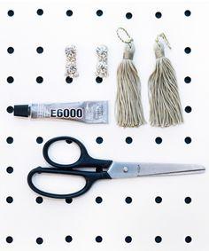 Luxe Tassel Earrings For Only $9 #refinery29
