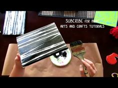 HOW TO PAINT THE SIDES & EDGES OF A CANVAS by Mr. Otter Art Studio