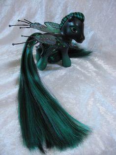 My little pony Fairy  custom commission. £45.00, via Etsy.