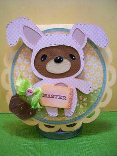 Little Scrap Pieces.Teddy Bear Parade.   Wild Card, Easter