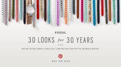 30 Looks, 30 Years Pinterest Contest