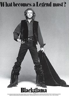 "Tommy Tune - Blackglama Mink ""What Becomes A Legend Most"" Ad Campaign (1994)"
