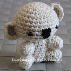 Crochet Pattern for Amigurumi Koala Bear   free