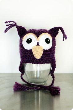 owl hat (no pattern)