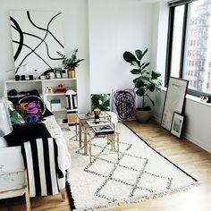 Carolina Engman's nyc home (via fashionsquad.com)