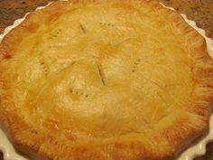 granmas apple sauce pie