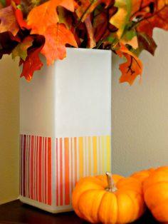 DIY ombre lamp!