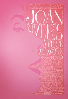 Joan Rivers: A Piece of Work - Documentary Joan is wicked funny...then & now!