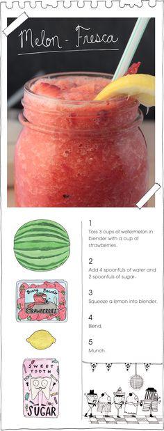 Melon Fresca-for poolside!