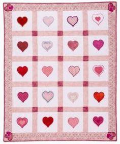 Valentine's Day Mini Quilt tutorial!