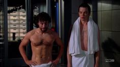 That moment when you realized Hodgins was seriously buff and you fell in love.