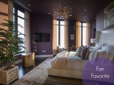 We're nearing the end of our HGTV Urban Oasis Pin Party so it's time to pick the Fan Favorite Room.  The winner is... the Master Bedroom!  Get up close and personal with this space…take the 360° virtual tour now→ http://www.hgtv.com/urban-oasis/master-bedroom-tour-from-hgtv-urban-oasis-2014/index.html?soc=UO14     #HGTVUrbanOasis