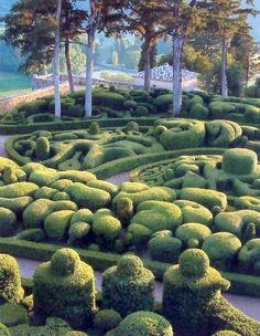 Jardins de Marqueyssac, Vézac, France