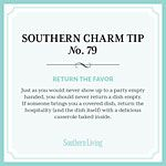 Southern Charm Tip No 79