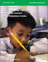 Doing What Works: English Language Learners
