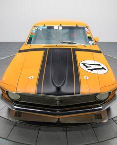 Legendary Kar Kraft Development Mustang Boss 302. A sight to behold! #Musclecar