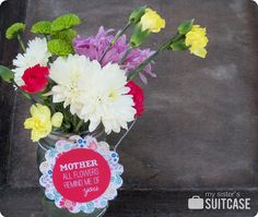 Mother's Day Tags {free printable}