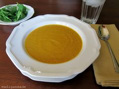 Spicy Squash and Carrot Soup ~ Madigan Made { simple DIY ideas }