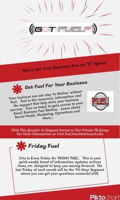 "Never let your business run on ""E"" again! #businessfuel #socialmedia"