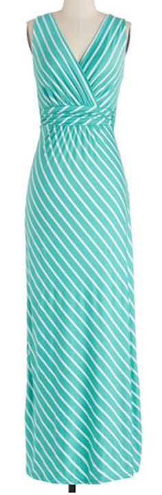 Turquoise striped maxi dress http://rstyle.me/n/gxxuinyg6