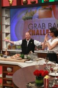 The Chew: Mario Batali Grab Bag Challenge Pasta Recipe & Tomato Season