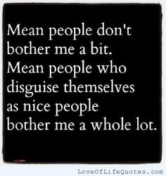 Mean people
