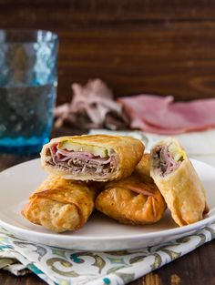 beef egg rolls, cuban egg