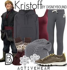 Disney Bound: Kristoff from Frozen; Activewear Outfit