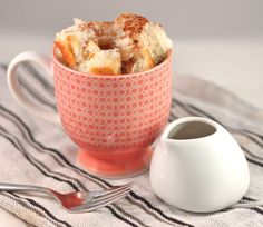 French toast in a cup. oh my goodness.